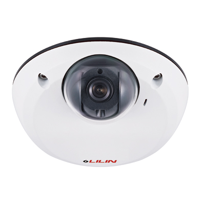 LILIN LD2222 1/3-inch HD IP dome camera with 2 MP resolution