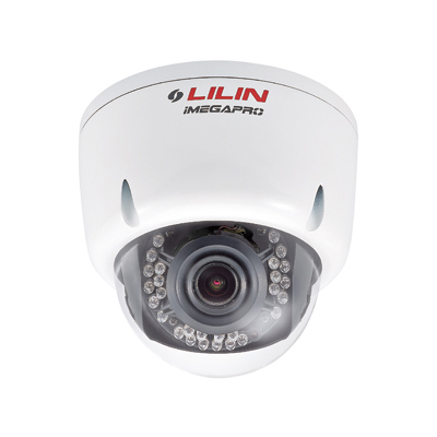 LILIN ZR6122EX3 2MP Day/night HD IR IP Dome Camera