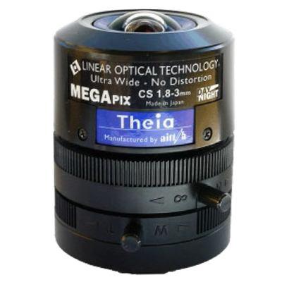 Pelco SL183A Varifocal Ultra Wide No Distortion 5 Megapixel Lens