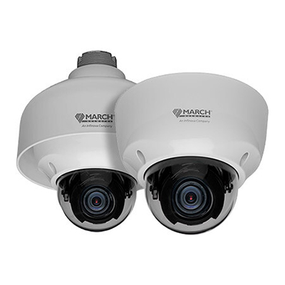 March Networks MegaPX DPoC MicroDome IP Over Coax Camera