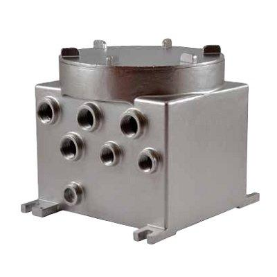 Videotec MBX1MAA EXPLOSION-PROOF COMMUNICATION BOX IN STAINLESS STEEL