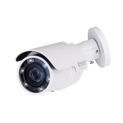 March Networks ME4 Outdoor IR Bullet Camera With High Dynamic Range (HDR) And Built-in IR For Outdoor Applications