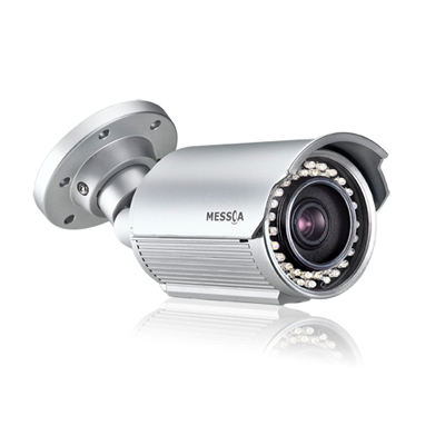 Messoa LPR606-N2-MES 1/3 Inch Day/night IR Bullet IP Camera