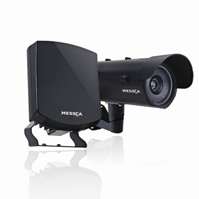 MESSOA NCH517 2MP Network LPR Solution With Intelligent Traffic Features And High Power IR LED Illuminator