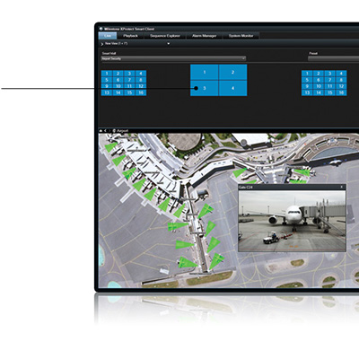 Milestone XProtect Smart Wall 2016 Advanced Video Wall For Complete Overview Of Surveillance Centers