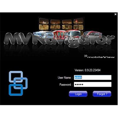 MobileView MV-NAVB-00-00 Video Management Software