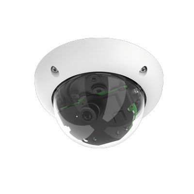 MOBOTIX MX-D25-BOD1 6 MP Color/Monochrome Indoor/Outdoor Security Dome Camera