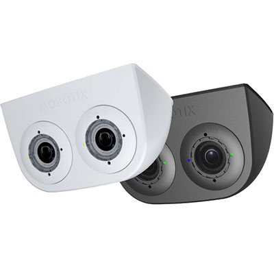MOBOTIX MX-FLEX-OPT-DM-BL White Dualmount