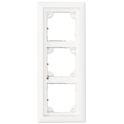 MOBOTIX MX-OPT-Frame-3-EXT-PW White Triple Frame