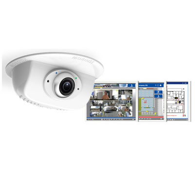 MOBOTIX P25 6MP Indoor Ceiling Camera With 6MP Moonlight Sensor Technology