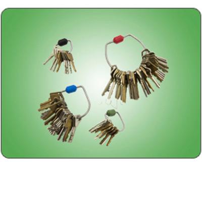 Morse Watchmans KR 15-15 Tamper Proof Key Rings
