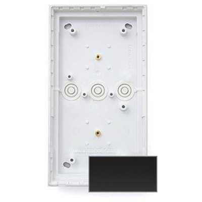 MOBOTIX MX-OPT-Box-2-EXT-ON-BL Double On-Wall-Housing, Black