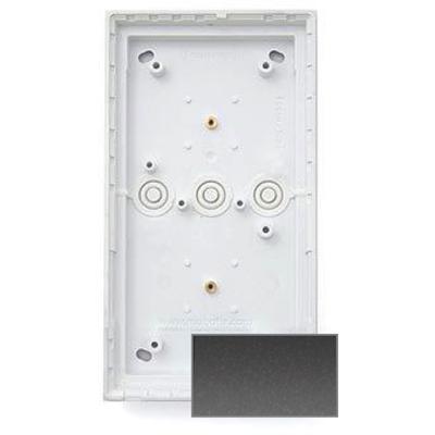 MOBOTIX MX-OPT-Box-2-EXT-ON-DG Double On-Wall-Housing, Dark Gray