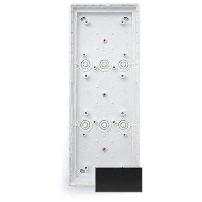 MOBOTIX MX-OPT-Box-3-EXT-ON-BL Triple On-Wall-Housing, Black