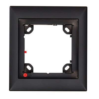 MOBOTIX MX-OPT-Frame-1-EXT-BL Single Frame, Black