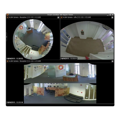 Oncam 360-degree Camera Viewer For Monitoring And Dewarping All Oncam Cameras