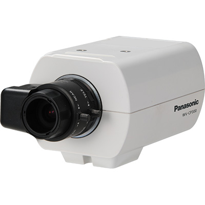 Panasonic WV-CP300/G 650 TVL Compact Day/night Fixed Camera