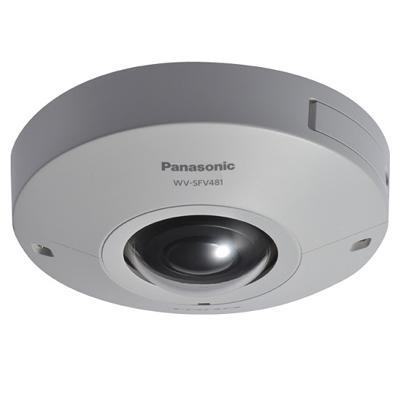 Panasonic Ultra 360 Degree intelligent surveillance camera with 4k Engine (WV-SFV481)