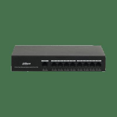 Dahua Technology PFS3009-8ET-65 8-Port PoE Switch (Unmanaged)