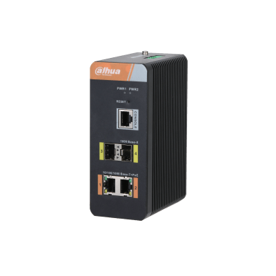 Dahua Technology PFS4204-2GT-DP 4-port Gigabit Industrial Switch With 2-port PoE(Managed)