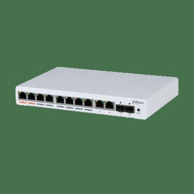 Dahua Technology PFS4212-8GT-96 12-Port Managed Desktop Gigabit Switch With 8-Port PoE