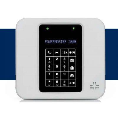 Visonic PowerMaster-360R Wireless Alarm Control Panel