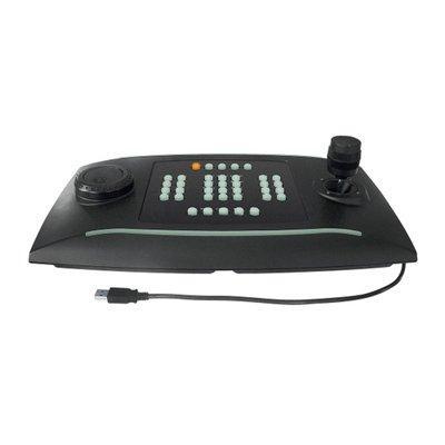 Wavestore WS-KBD-02 PTZ Joystick With Jog-shuttle And 38 X Backlit Buttons