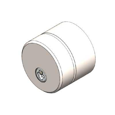 ASSA ABLOY PULSE S-round Outside Scandinavian hardened Cylinder
