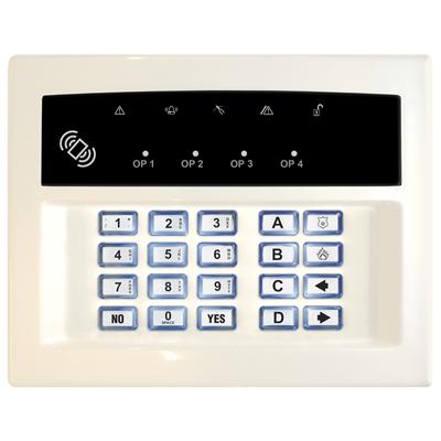 Pyronix LEDRKP/WHITE-WE Wireless Arming Keypad