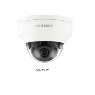 Hanwha Techwin America QNV-6010R 2M Vandal-Resistant Network IR Dome Camera