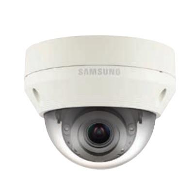 Hanwha Techwin America QNV-6070R 2MP Full HD Vandal-Resistant Network IR Dome Camera