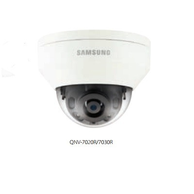 Hanwha Techwin America QNV-7030R 4M Vandal-Resistant Network IR Dome Camera