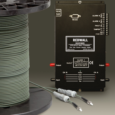 OPTEX RAPID REDFIBER Makes Fiber Optic Perimeter Protection Easier And More Cost-Efficient