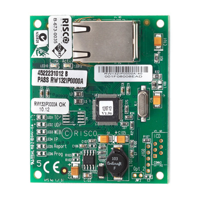 RISCO Group Plug-in IP Module Primary Communication