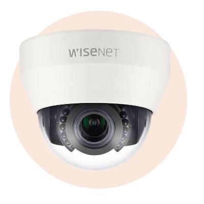 Hanwha Techwin America SCD-6083R 1080p Full-HD IR Dome Camera