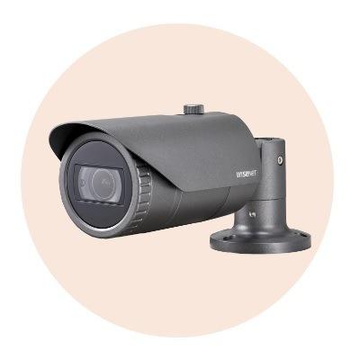 Hanwha Techwin America SCO-6085R 1080p Full-HD Analog Bullet IR Camera
