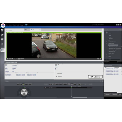 Qognify LPR Module For Reliable Detection Of Vehicle Licence Plates