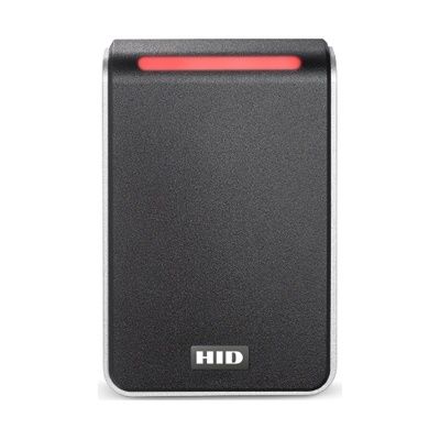 HID Signo Reader 40 Contactless Smartcard Reader – Multi-technology, Mobile Ready, Wall Switch Mount