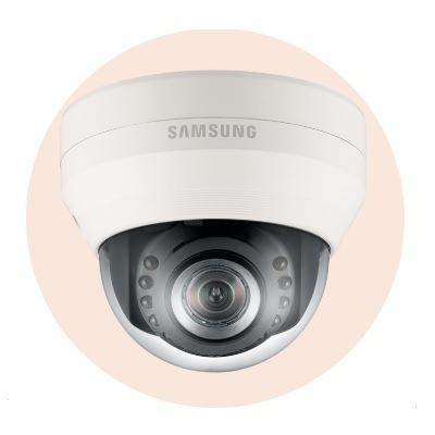 Hanwha Techwin America SND-5084R 1.3MP Network IR Dome Camera
