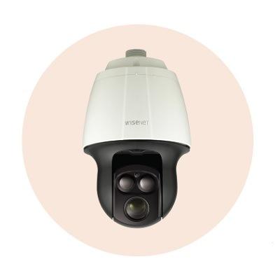 Hanwha Techwin America SNP-6320RH 2MP Full HD 32x Network IR PTZ Dome Camera