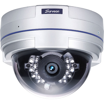 Surveon CAM4311 Full HD Day/night Dome Network Camera With PoE