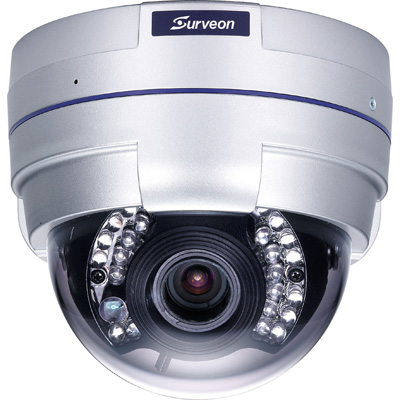 Surveon CAM4321 Full HD Day/night Fixed Dome Network Camera With PoE