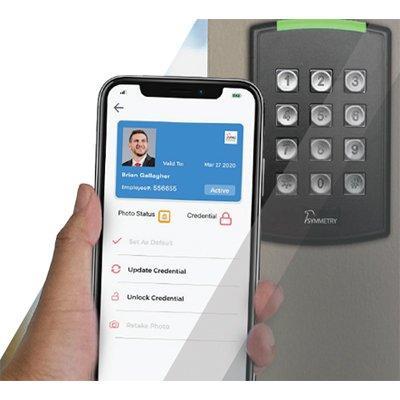 AMAG Symmetry Mobile Credential Management Platform