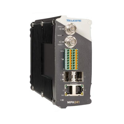 Teleste MPH241 One Channel Stand-alone H.264 Video Encoder