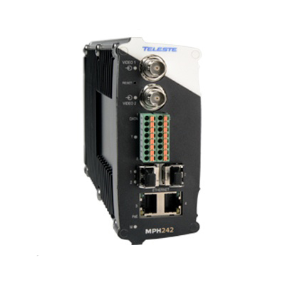 Teleste MPH242 Two Channel Stand-alone H.264 Video Encoder