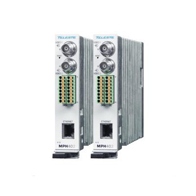 Teleste MPH412 Two Channel Rack Mount H.264 Video Encoder