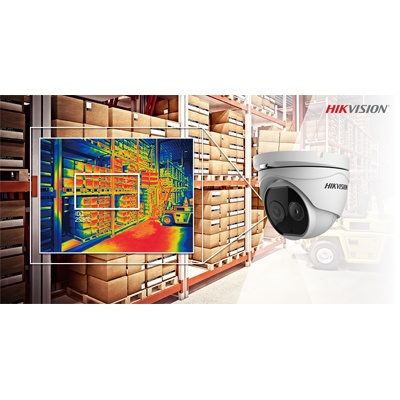 Hikvision Thermal Deep Learning Turret Camera