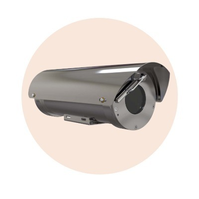 Hanwha Techwin America TNO-6320E2F-Z Explosion Proof Zoom Camera