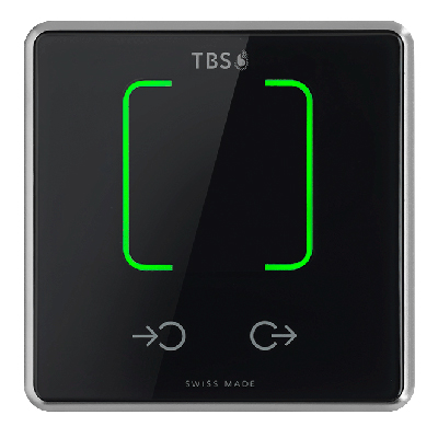 Touchless Biometric Systems (TBS) 1D CARD STATION RFID-Access And Time And Attendance