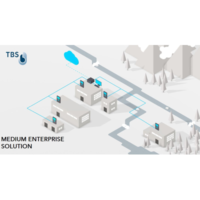 Touchless Biometric Systems (TBS) MEDIUM ENTERPRISE SOLUTION -  Biometric Access Control Package